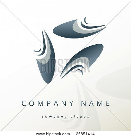 ABSTRACT CORPORATE VECTOR LOGO