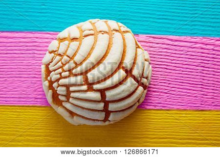 Conchas Mexican sweet bread traditional bakery from Mexico