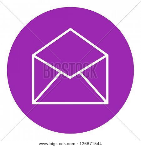 Envelope line icon.