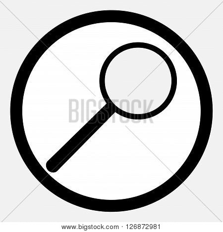 Icon analysis magnifying glass. Magnifying glass icon and search magnifying glass vector and analysis search or research. Vector flat design illustration