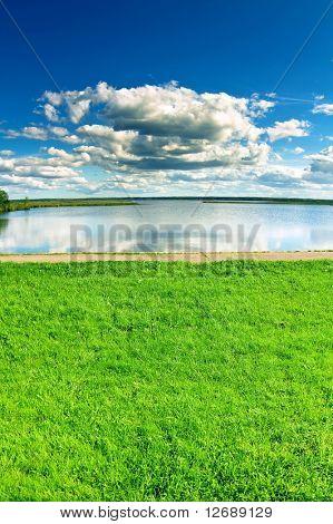 Cloudscape waterscape landscape