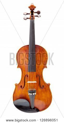 Front View Of A Violin