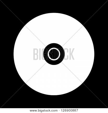 an images of Compact Disc storage icon Illustration design