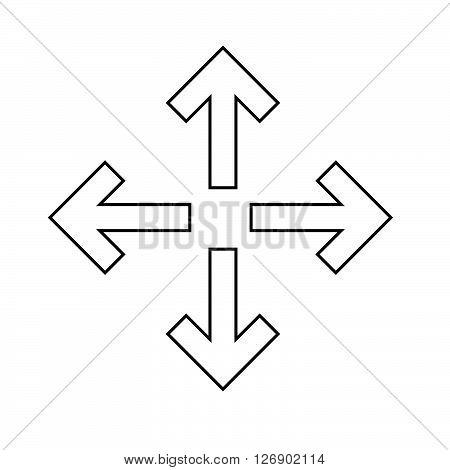 an images of Fullscreen icon Illustration design