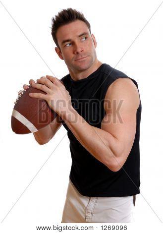 Fußball-Mann