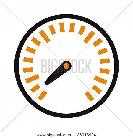 Vector performance measurement cars speed icon auto symbol.