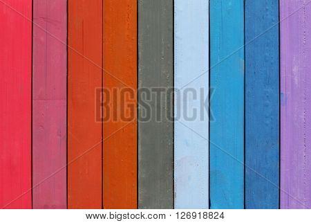 Range of natural colors - detail of artisctic pastels