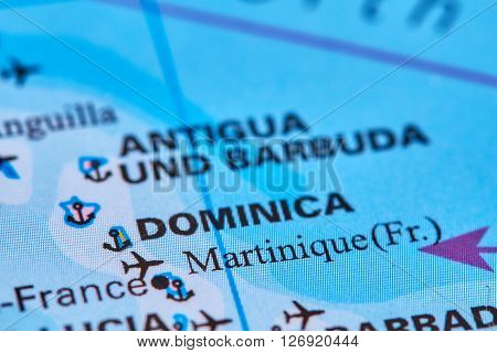 Martinique On The Map