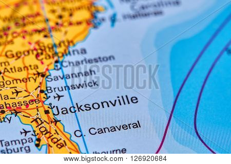 Jacksonville On The Map