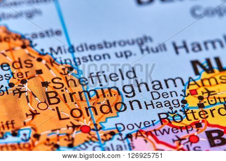 Birmingham On The Map