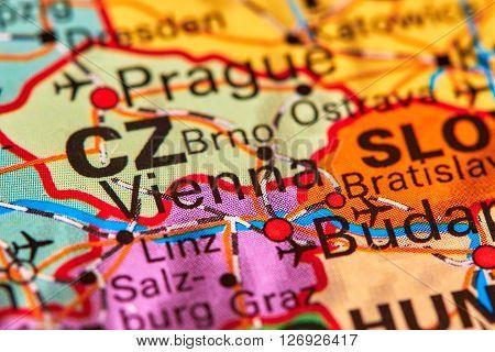Vienna On The Map
