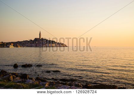 Rovigno is a city in Croatia situated on the north Adriatic Sea