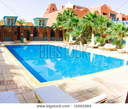 Luxury pool outdoor