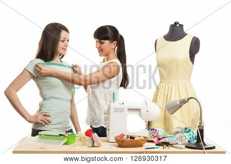 The Seamstress Takes Measurements