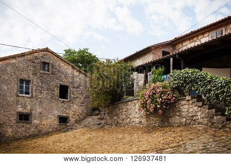 Hum is a town in the central part of Istria. House