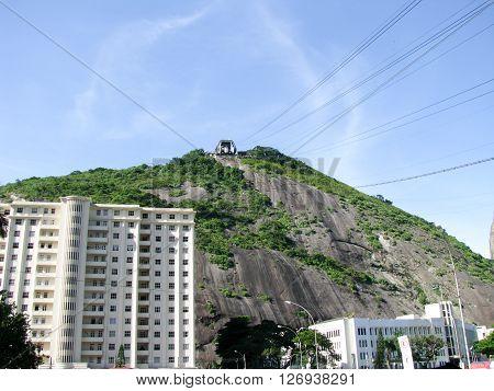 Spectacular panorama of Rio de Janeiro Brazil