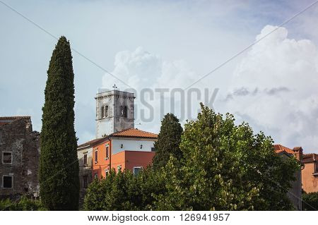 Oprtalj is a village and municipality in Istria. City view
