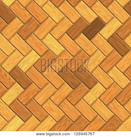seamless texture of wooden parquet, laminate flooring  3D illustration
