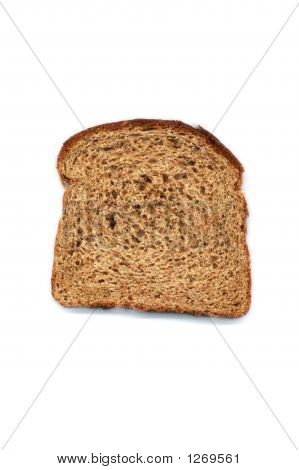 Healthy Slice Of Wheat Bread