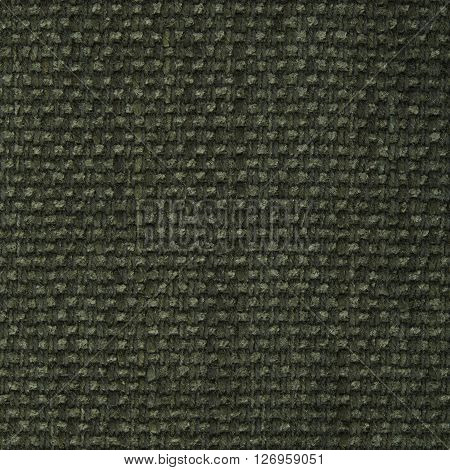 Olive khaki fabric texture. Close up top view.
