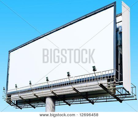 Billboard a Huge Space
