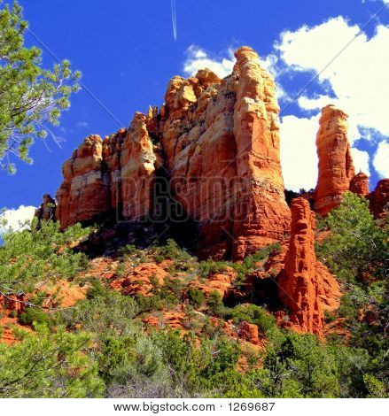 Red Rock Spires