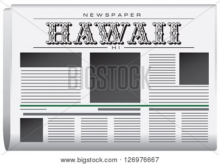 Abstract Newspaper State of Hawaii. Legal Organ Hawaii.