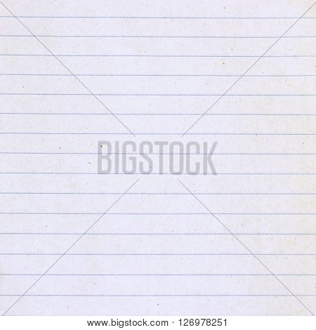 Old White Squared Notebook Paper