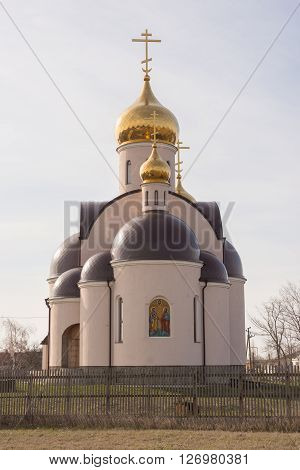 Sennoy, Russia - April 2, 2016: The Arrival Of The Holy And Glorious Vsehvalnyh Appostolov Ss Peter