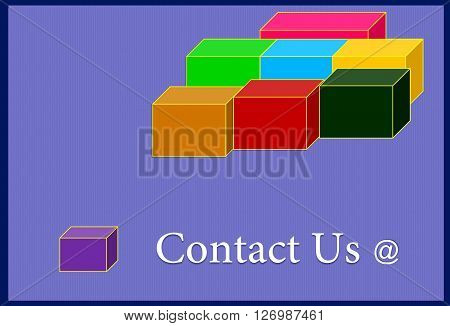 contact us The picture shows one of the types of electronic contact between people.