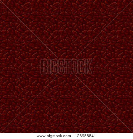 Dark leather texture background. Leather seamless pattern.