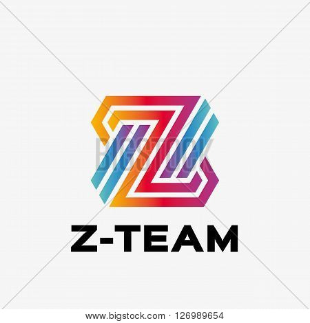 Abstract letter Z logo. Abstract business logo design template. Logo template editable for your business.