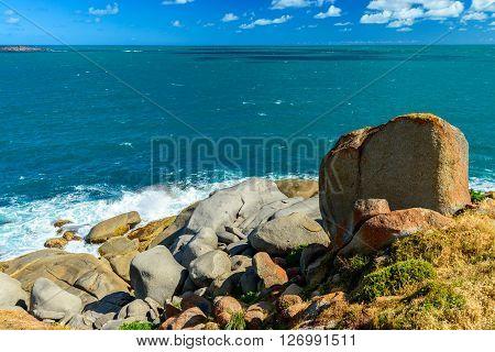 View from Granite island, Victor Harbor, South Australia