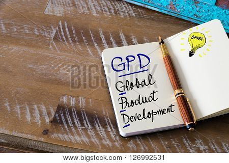 Business Acronym Gpd Global Product Development