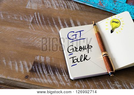Business Acronym Gt Group Talk
