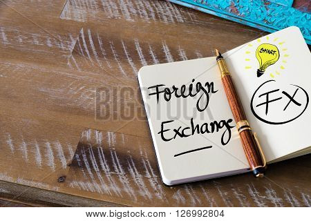 Business Acronym Fx Foreign Exchange