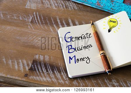 Conceptual Business Acronym Gbm