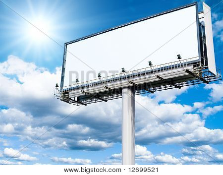 Billboard a Huge Space