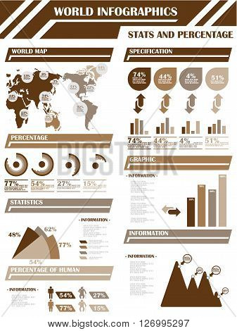 INFOGRAPHIC DEMOGRAPHICS  BROWN for web and other