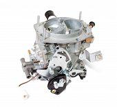 stock photo of carburetor  - New carburetor - JPG
