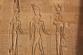 stock photo of isis  - The Ancient Egyptian gods Hathor - JPG