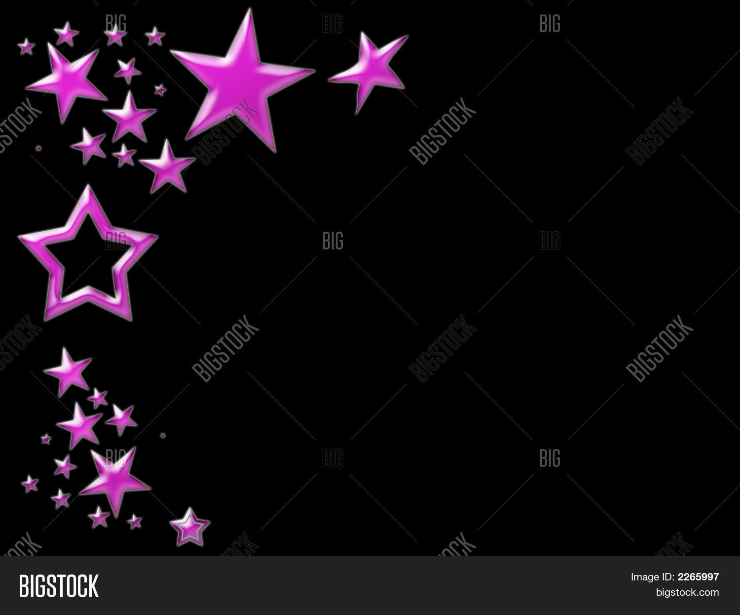 Black and pink star backgrounds