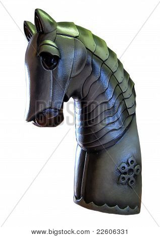 A Knights Horse