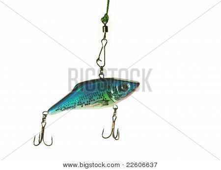 Blue Wobbler For Fishing