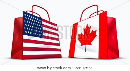 U.s.a. And Canada Trade