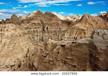 Badlands, South Dakota, Usa