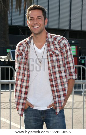 LOS ANGELES - AUG 14:  Zachary Levi arriving at the 2011 VH1 Do Something Awards at Hollywood Palladium on August 14, 2011 in Los Angeles, CA