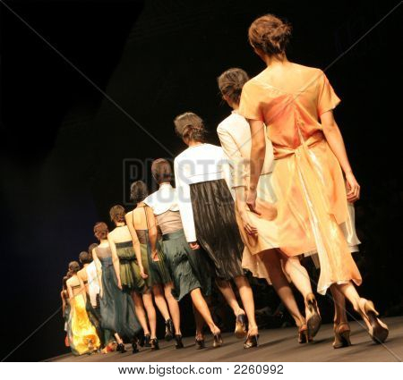 Desfile de moda.