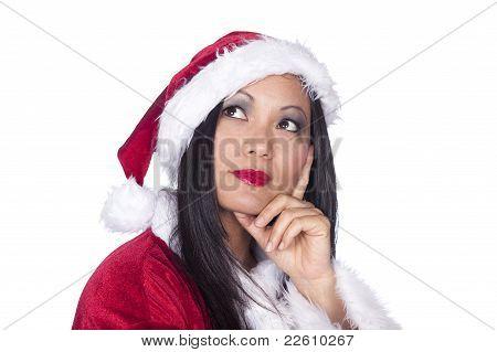 Sexy asiatische Santa