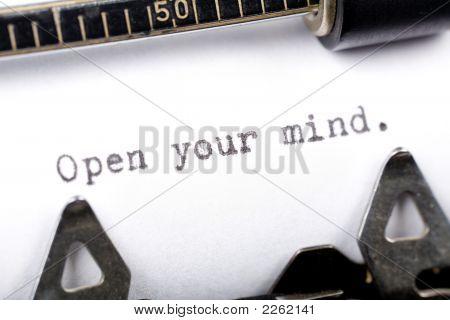 Abra sua mente
